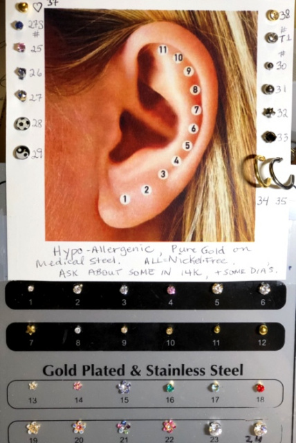 Ear Piercing After Care And Advice Faq